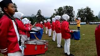 Andika Bhayangkari drum band