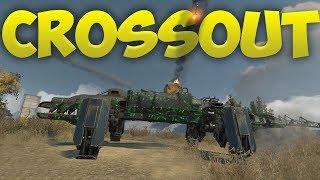 Crossout - The Oddest Vehicles! - High Flying Rocket Launcher, Croc Mech & More! - Crossout Gameplay