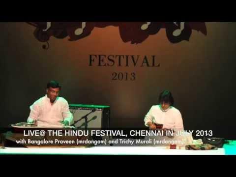 Chitravina N Ravikiran & Mandolin U Srinivas present Ravikiran's varnam in Reetigowla