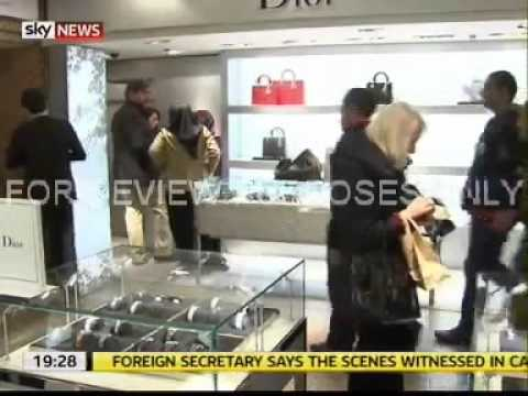 Chinese consumer demand for luxury goods - Verdict on Sky News