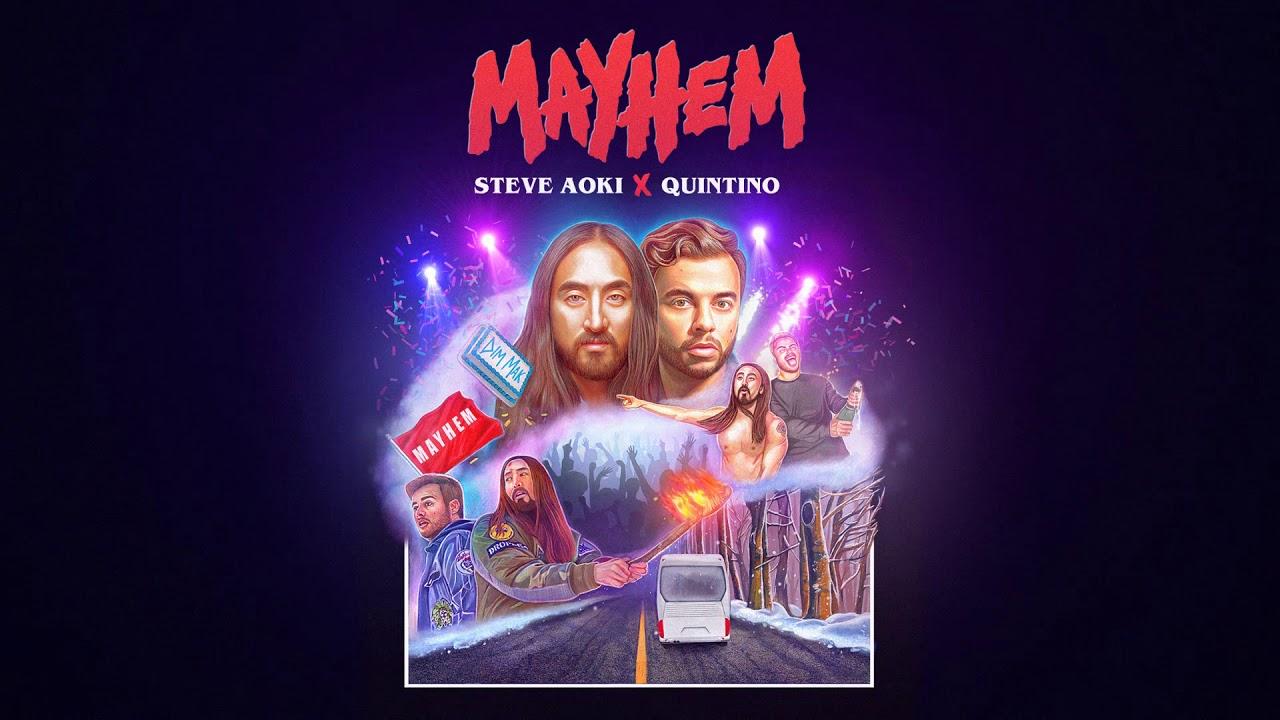 Steve Aoki Amp Quintino Mayhem Dim Mak Records YouTube