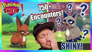 750+ NICKIT ENCOUNTERS - EXTREME SHINY NICKIT HUNTING in POKEMON SWORD & SHIELD