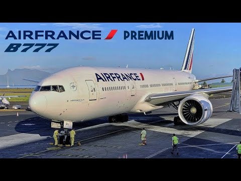 Air France [Premium] Boeing 777 🇵🇫 Tahiti  PPT - Paris CDG airport 🇫🇷 via Vancouver YVR 🇨🇦