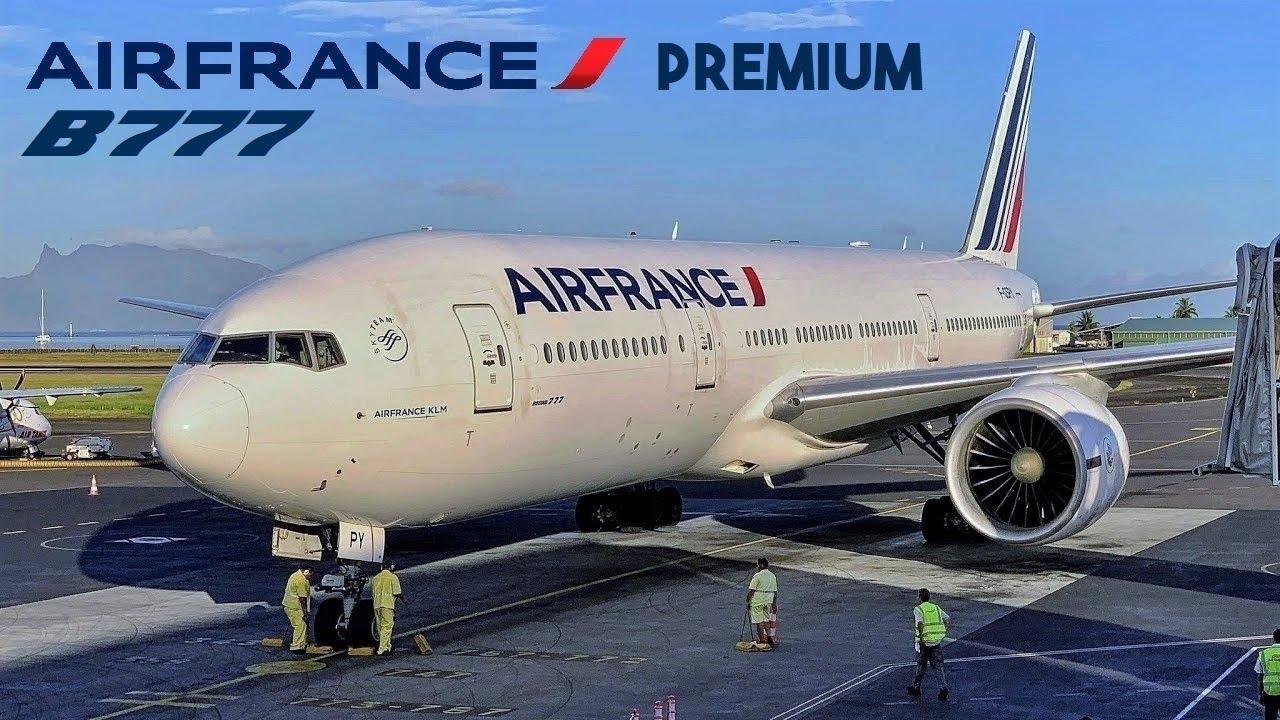 Download Air France [Premium] Boeing 777 🇵🇫 Tahiti  PPT - Paris CDG airport 🇫🇷 via Vancouver YVR 🇨🇦