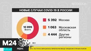Как развивается ситуация с коронавирусом в Москве - Москва 24