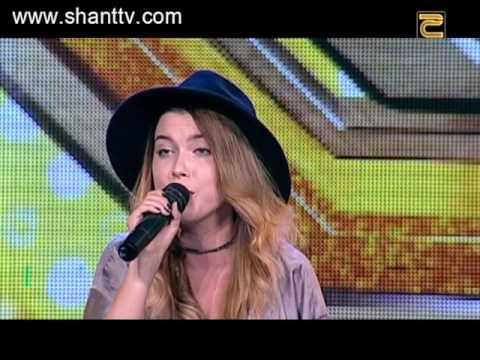 X-Factor4 Armenia-Auditions6-Valeria Baltaeva/Shontelle - Impossible 13.11.2016