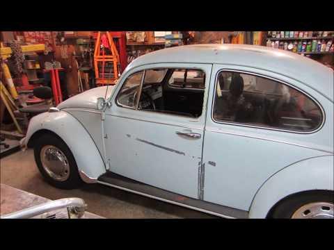 will it  run? 1968 vw beetle barn find.