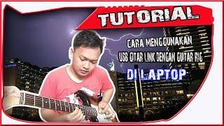 cara menggunakan usb guitar link di laptop
