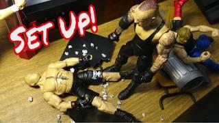 WWE Action Figure Set Up - Hardcore