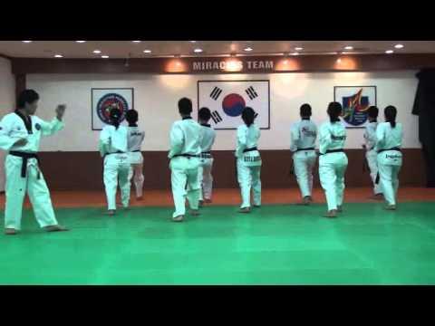 TAEKWONDO POOMSAE TAEGEUK 8/ PHAL JANG/ 8 태극8장 WITH MASTER KANG JAE JIN