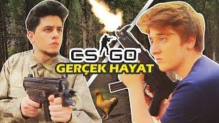 CS GO Gerçek Hayatta Olsaydı ft BaboFilms