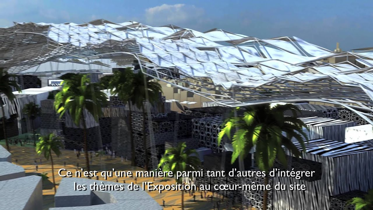 Dubai Expo 2020 Master Plan - YouTube