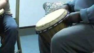 "African Drumming Lesson #1 ""Marketplace"""