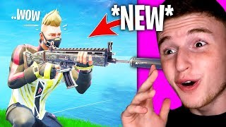 The *NEW* Suppressed AR IS AMAZING In Fortnite