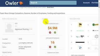 Find Company Information - Revenue & Number Of Employees!! Crowdflower !! NEOBUX!!!