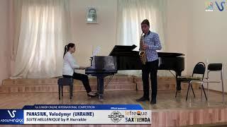 Volodymyr Panasiuk  – Suite Hellenique by Pedro Iturralde