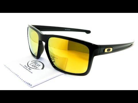 62d6bdfbc0937 Óculos de Sol Oakley Sliver Espelhado OO9262 05 57 - YouTube