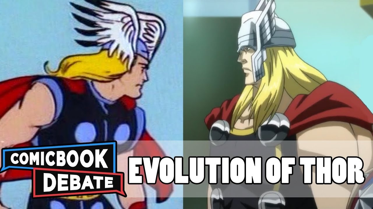evolution of thor in cartoons in 11 minutes 2017 youtube