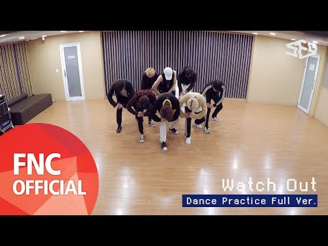 SF9 – Watch Out 안무 연습 영상(Dance Practice Video) Full Ver.