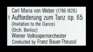 Von Weber / Berlioz / Franz Bauer-Theussl, 1970s: Aufforderung zum Tanz, Op. 65