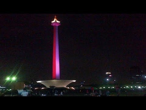 Sambut Asian Games 2018, Pemprov DKI Jakarta Sajika Video Mapping di Monas, Berikut jadwalnya - 동영상