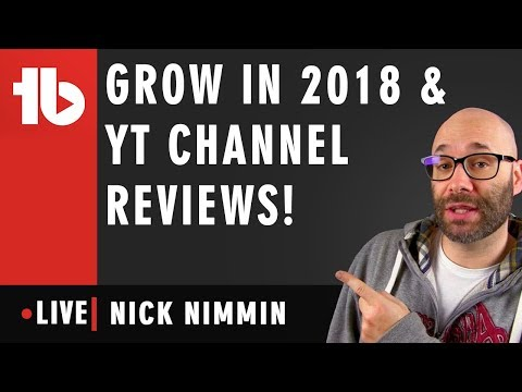 🔴 Channel Reviews and Question and Answers! - Hosted by Nick Nimmin