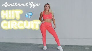 QUICK 10 MINUTE HIIT | Apartment Gym Workout