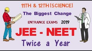 New Changes in IIT JEE and NEET Entrance Exams for 2019 | IIT- JEE | NEET -UG 2019 | by Ravi Vare