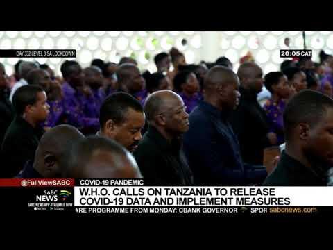 WHO calls on Tanzania to release COVID-19 data