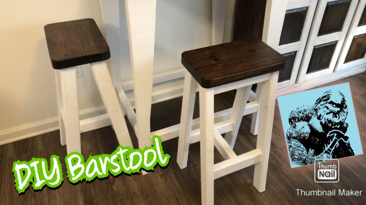 How To Build A Bar Stool Easy You