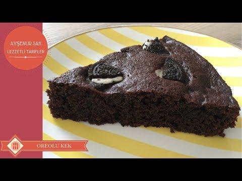 Oreolu Kakaolu Kek Nasıl Yapılır | Oreolu Kek Tarifi