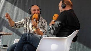 Serdar Somuncu beim radioeins Parkfest 2016
