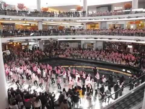 2012 AntiBullying Flash Mob at Aberdeen Centre Mall Richmond School District No38