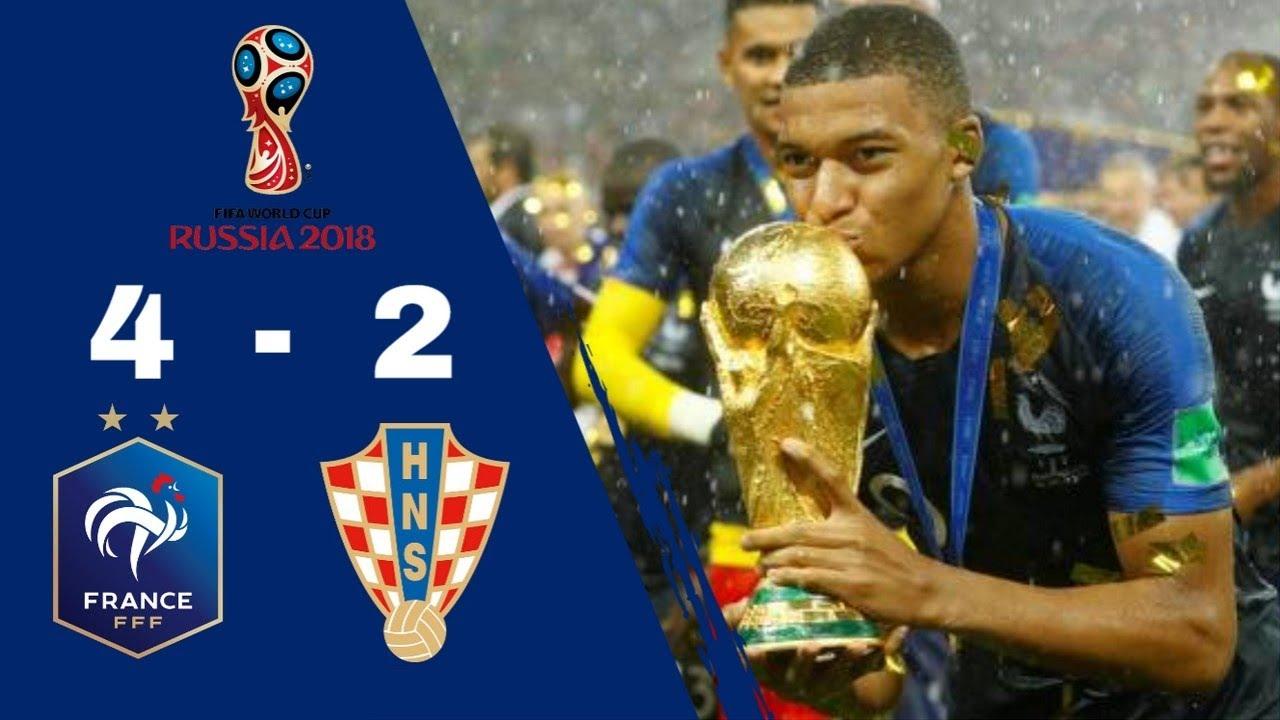 Résumé FRANCE 4 - 2 CROATIE | Finale Coupe Du Monde 2018 [HD] [TF1 ...