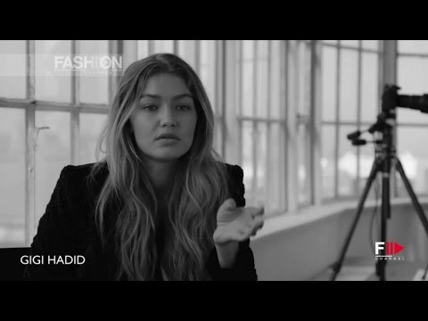 GIGI HADID for Stuart Weitzman Campaign - Interview by Fashion Channel