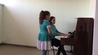 """Урок академического вокала в образовательном центре """"Мечта"""""""