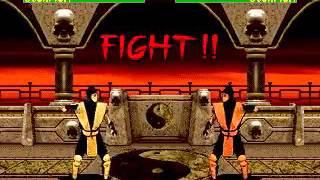 Mortal Kombat 2 - Scorpion (Sega Genesis) (By Sting)