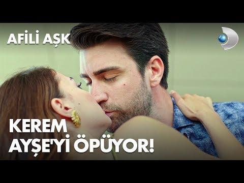 Kerem, Ayşe'yi öpüyor! - Afili Aşk 9. Bölüm