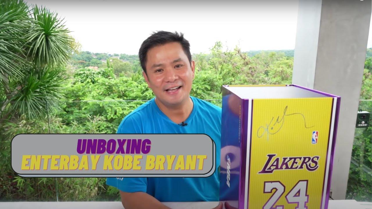 Unboxing Enterbay Kobe Bryant | Ogie Alcasid