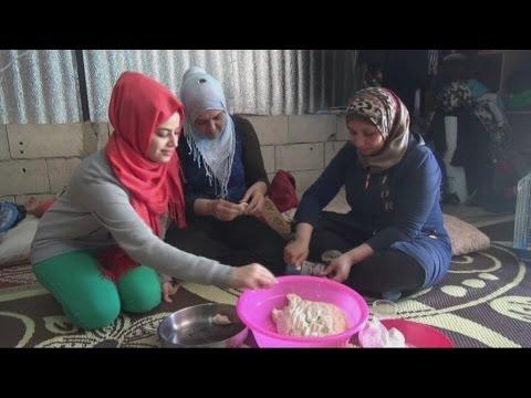 الحنين الى الوطن في عيون اللاجئين السوريين في لبنان