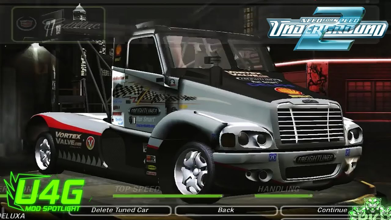 need for speed underground 2 freightliner century class s. Black Bedroom Furniture Sets. Home Design Ideas