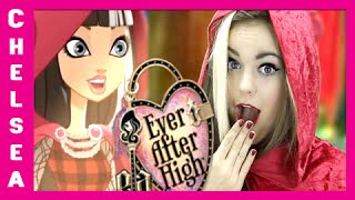 Ever After High's Cerise Hood Costume Makeup Tutorial! Thumbnail