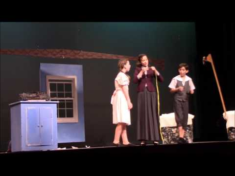 Mary Poppins Jr. SHMS Jan 2017