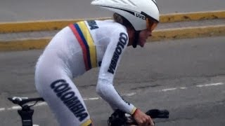 CICLISMO de RUTA CONTRA RELOJ  - Juegos Bolivarianos 2013