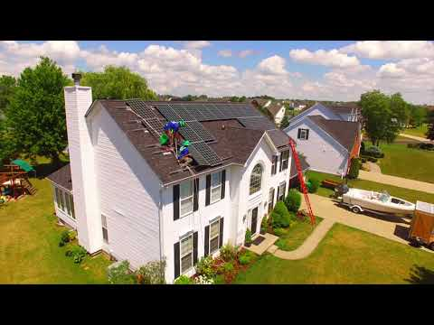 A Day in The Life of Solar Installers