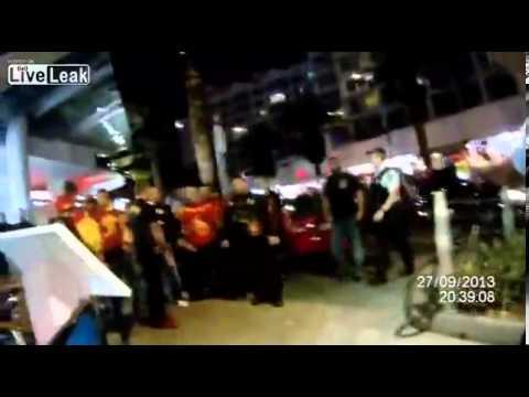 Queensland Police vs. Bandidos Bikie Gang