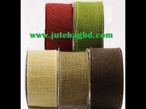 Color Burlap Ribbon for Wholesale - Hello: +880-2-8392216