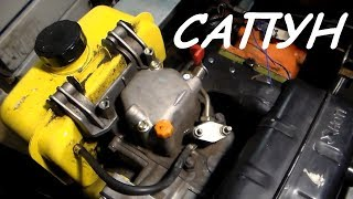 Переделка сапуна дизельного двигателя мотоблока