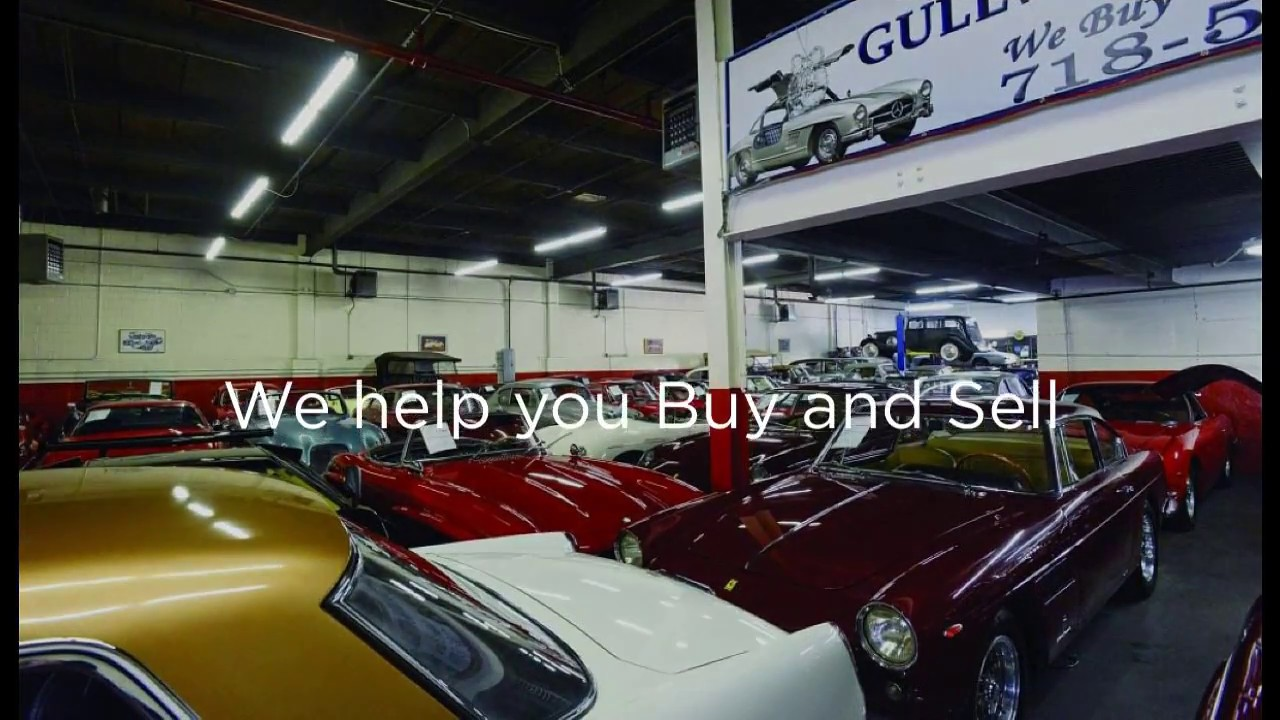 Gullwing Motor Cars I Classic Car Dealer - YouTube