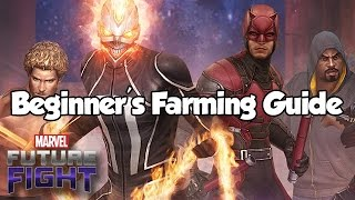 Beginner's Farming Guide - Marvel Future Fight